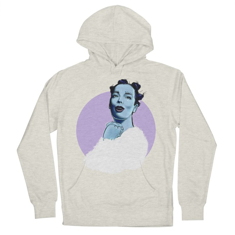 Violently Happy Women's French Terry Pullover Hoody by Ego Rodriguez