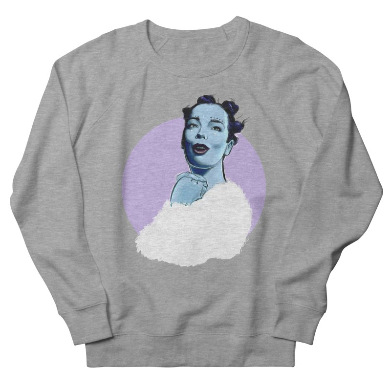 Violently Happy Women's French Terry Sweatshirt by Ego Rodriguez