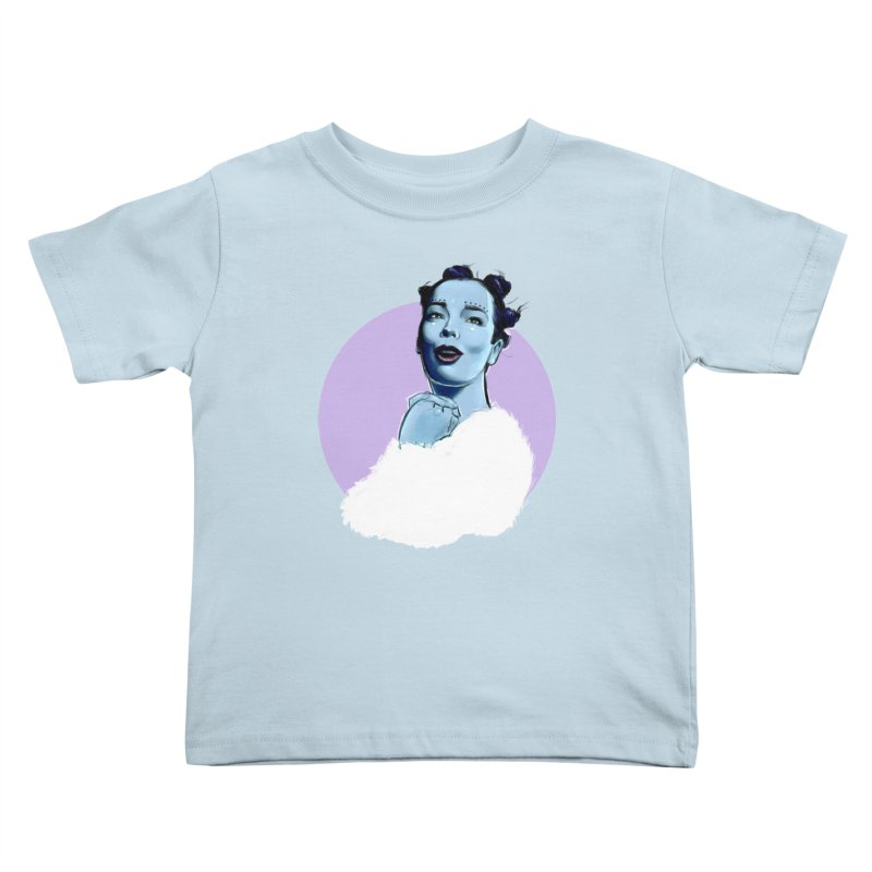 Violently Happy Kids Toddler T-Shirt by Ego Rodriguez
