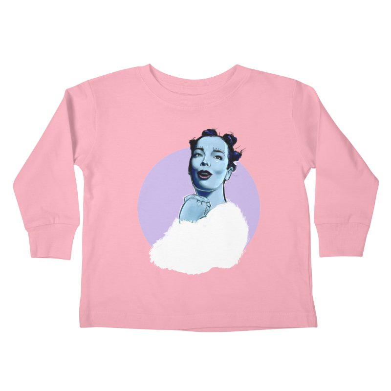 Violently Happy Kids Toddler Longsleeve T-Shirt by Ego Rodriguez