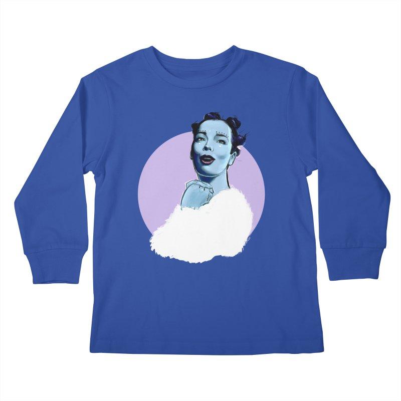 Violently Happy Kids Longsleeve T-Shirt by Ego Rodriguez