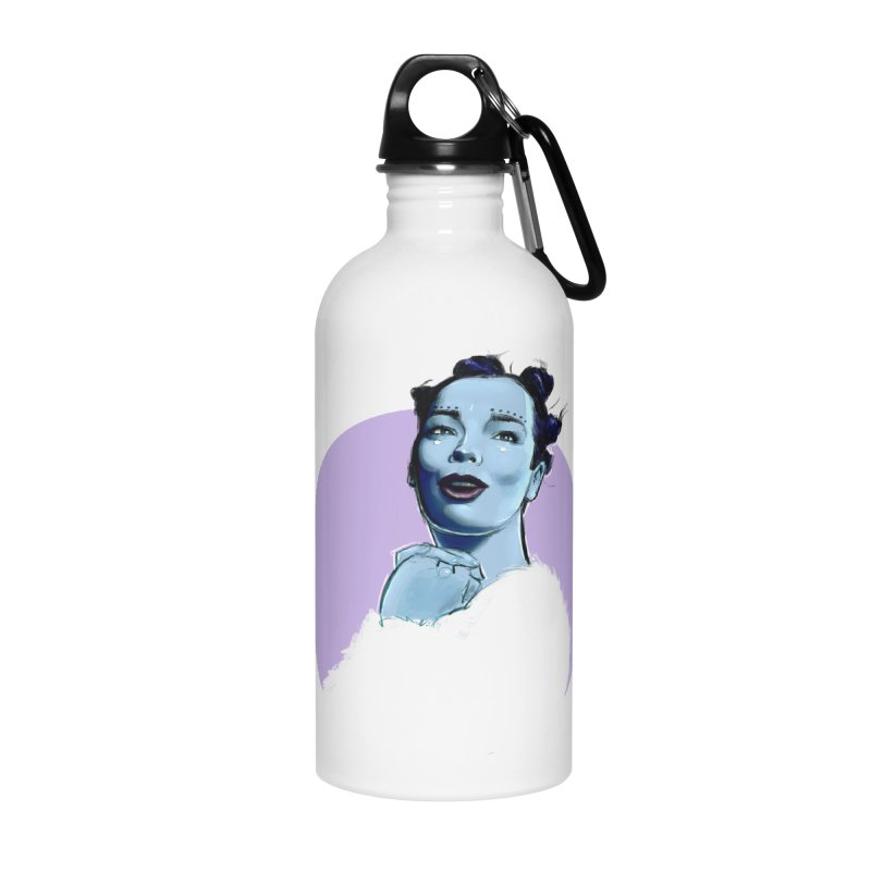 Violently Happy Accessories Water Bottle by Ego Rodriguez