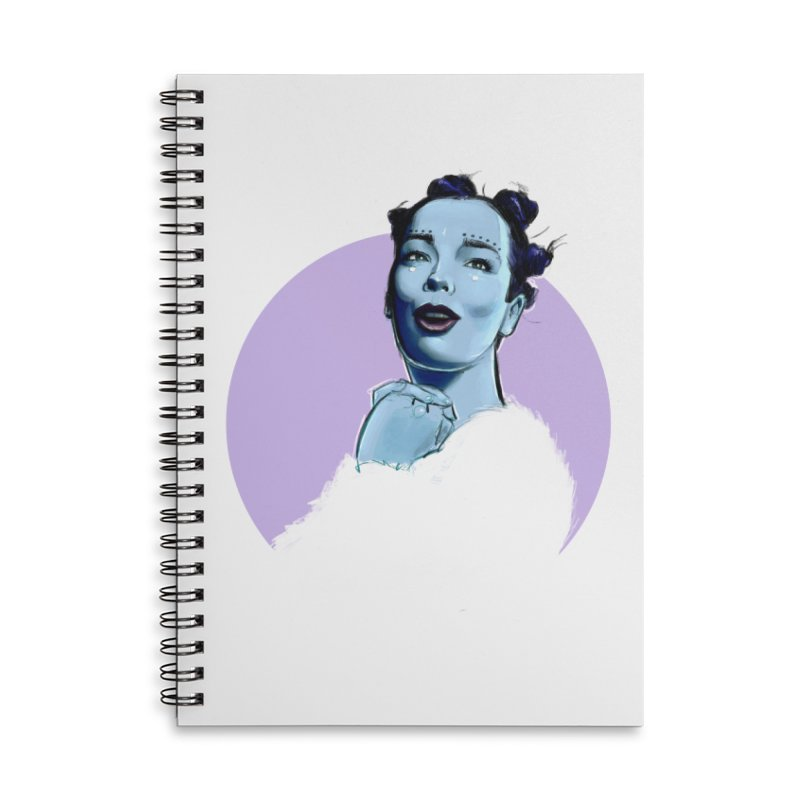 Violently Happy Accessories Notebook by Ego Rodriguez