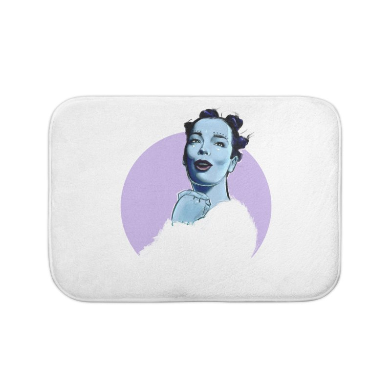 Violently Happy Home Bath Mat by Ego Rodriguez