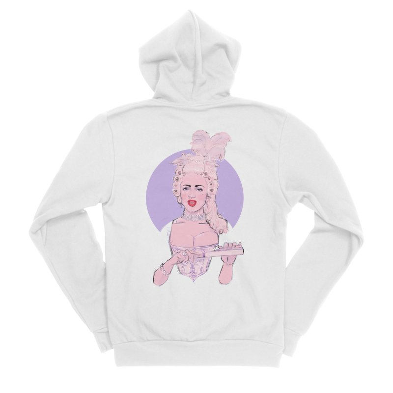 Strike a pose Women's Sponge Fleece Zip-Up Hoody by Ego Rodriguez