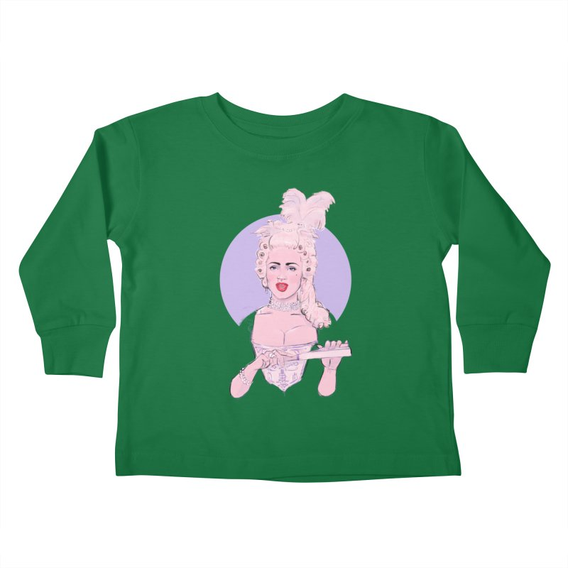Strike a pose Kids Toddler Longsleeve T-Shirt by Ego Rodriguez