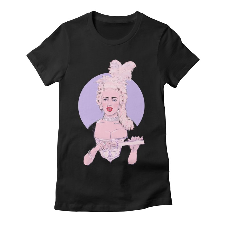 Strike a pose Women's Fitted T-Shirt by Ego Rodriguez