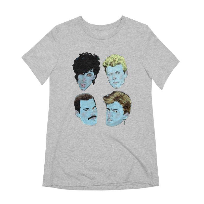 Legendary Women's Extra Soft T-Shirt by Ego Rodriguez