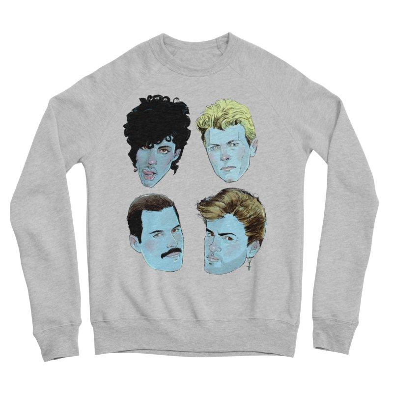 Legendary Men's Sponge Fleece Sweatshirt by Ego Rodriguez