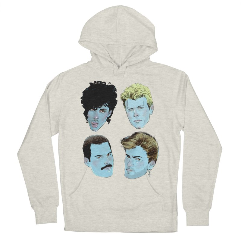 Legendary Women's French Terry Pullover Hoody by Ego Rodriguez