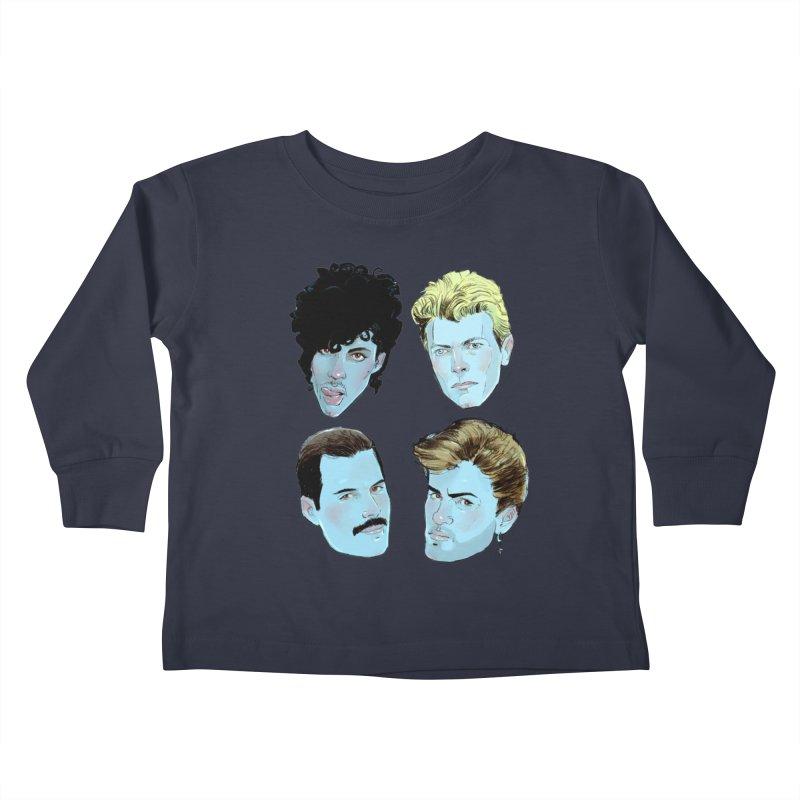 Legendary Kids Toddler Longsleeve T-Shirt by Ego Rodriguez