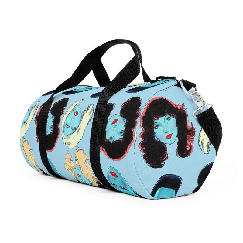 Iconic Accessories Duffel Bag Bag by Ego Rodriguez