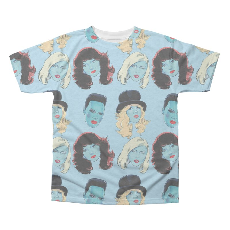 Iconic Men's Triblend All Over Print by Ego Rodriguez
