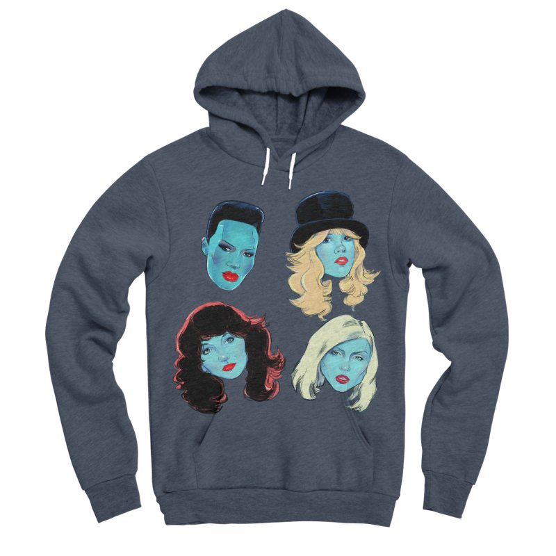 Iconic Women's Sponge Fleece Pullover Hoody by Ego Rodriguez