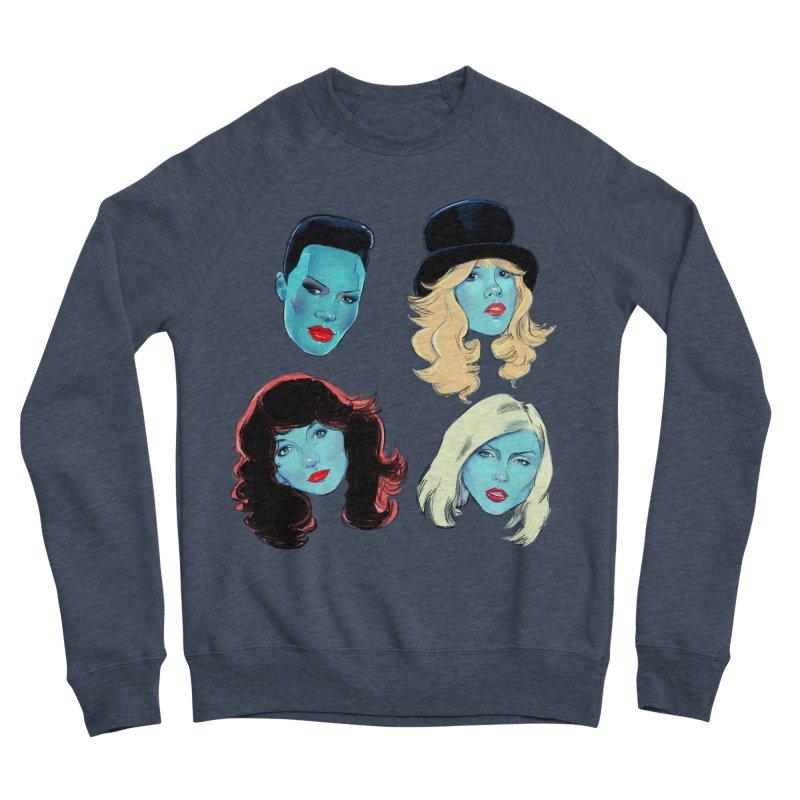 Iconic Women's Sponge Fleece Sweatshirt by Ego Rodriguez
