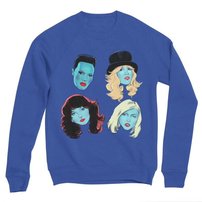 Iconic Men's Sponge Fleece Sweatshirt by Ego Rodriguez