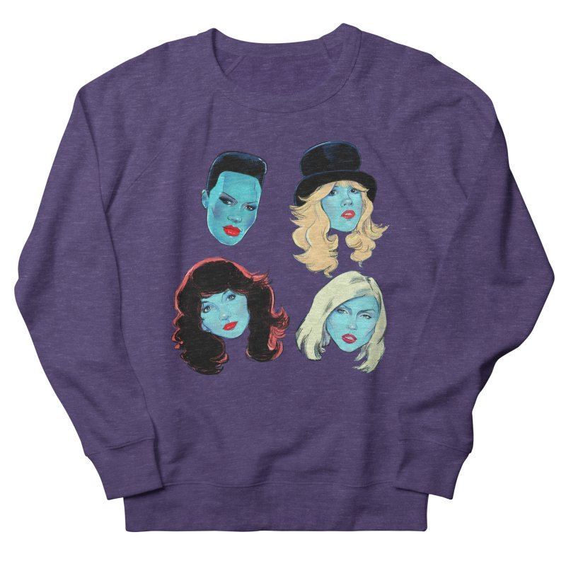 Iconic Women's French Terry Sweatshirt by Ego Rodriguez