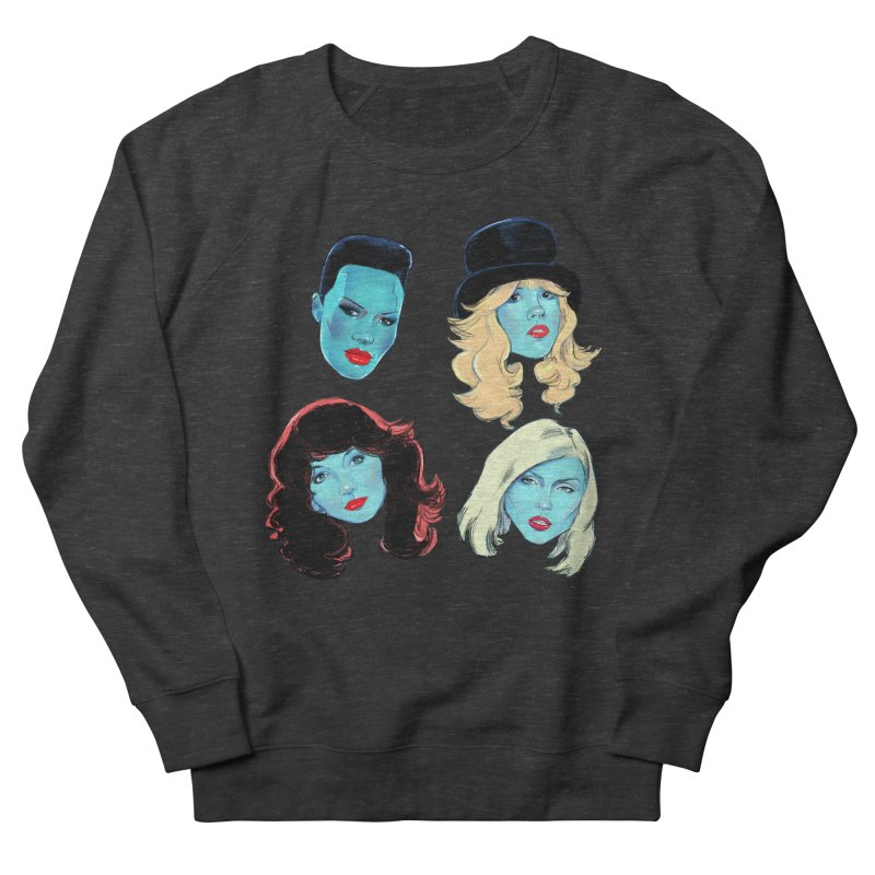 Iconic Men's French Terry Sweatshirt by Ego Rodriguez