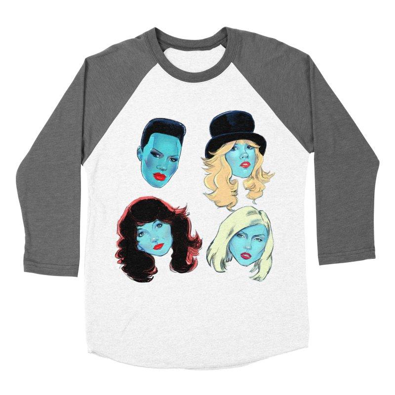 Iconic Women's Baseball Triblend Longsleeve T-Shirt by Ego Rodriguez