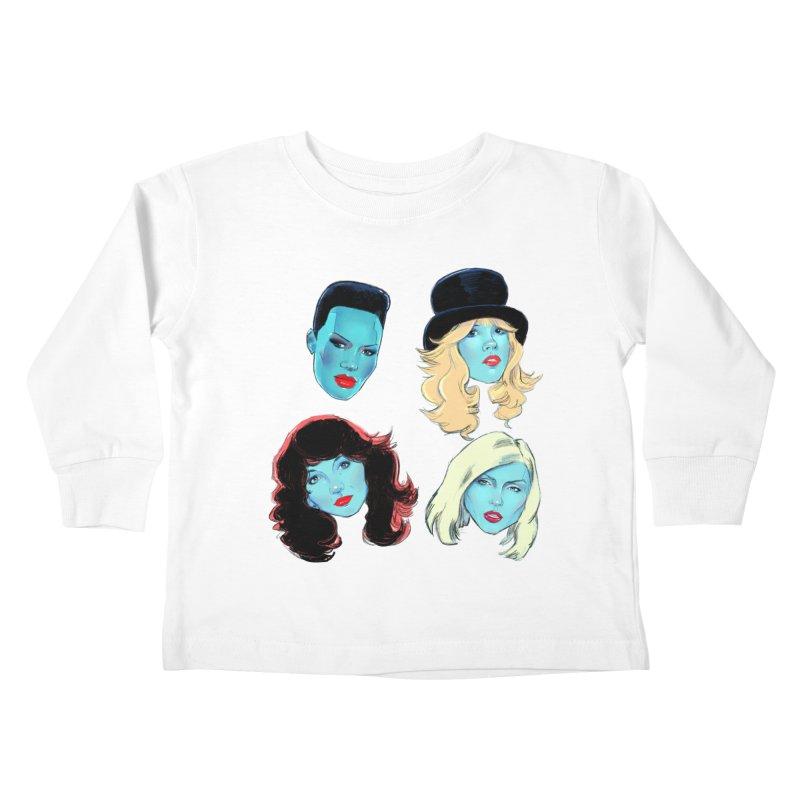 Iconic Kids Toddler Longsleeve T-Shirt by Ego Rodriguez