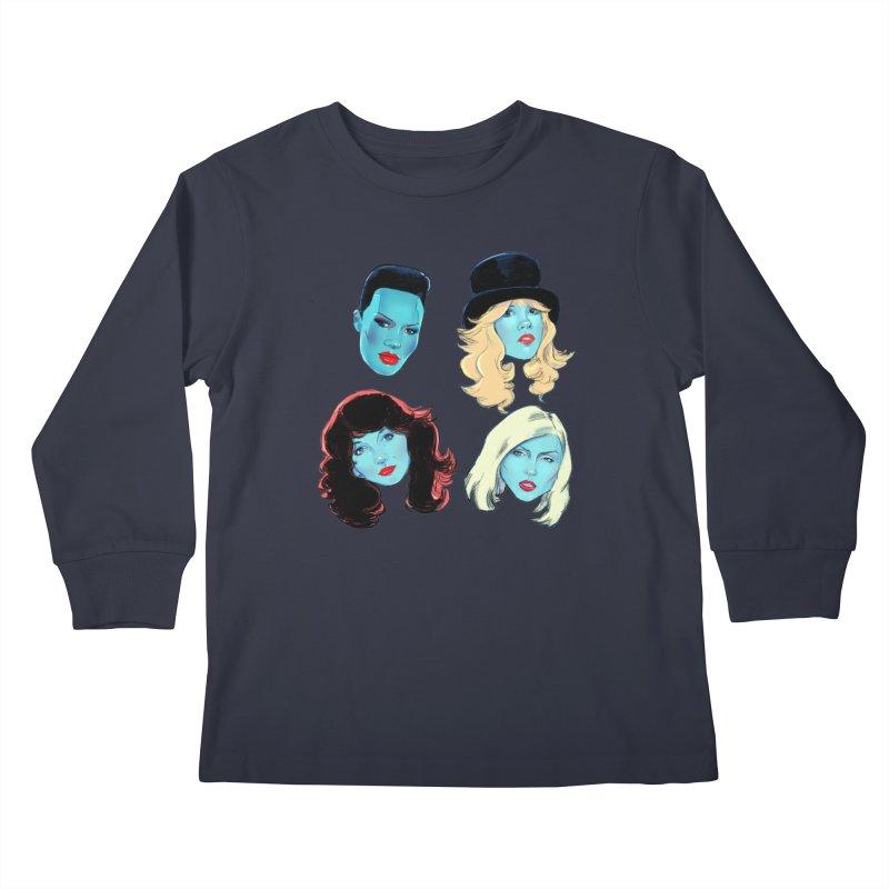 Iconic Kids Longsleeve T-Shirt by Ego Rodriguez
