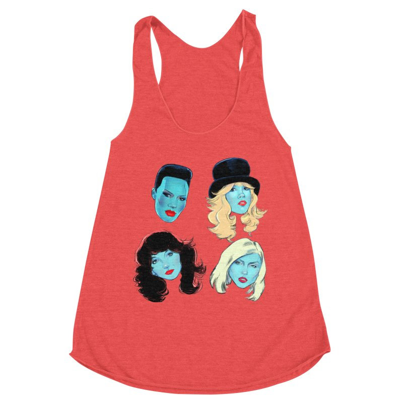 Iconic Women's Tank by Ego Rodriguez