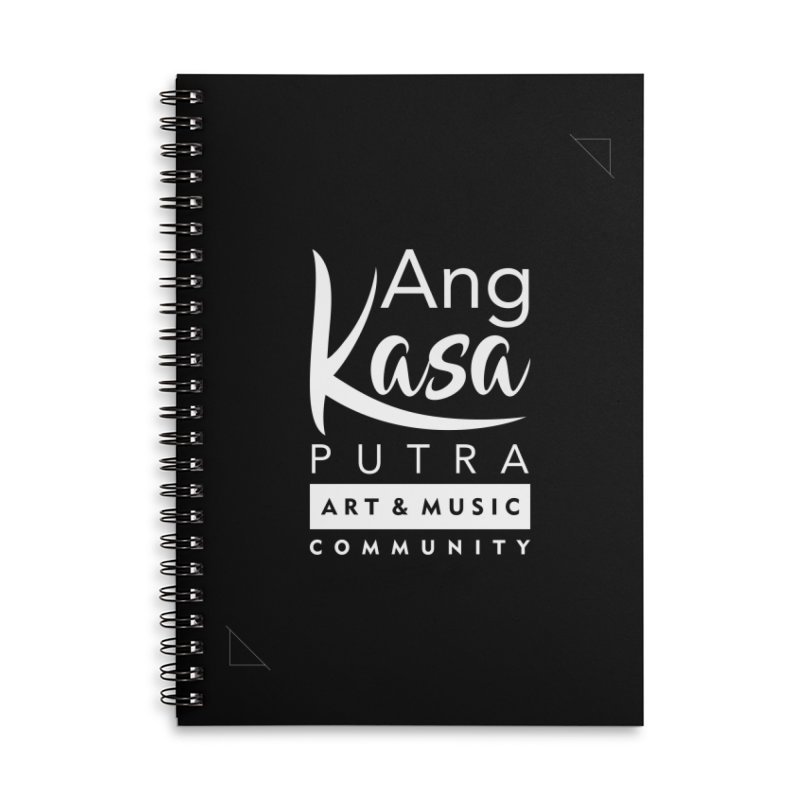ANGKASA PUTRA ART & MUSIC COMMUNITY in Lined Spiral Notebook by EHELPENT