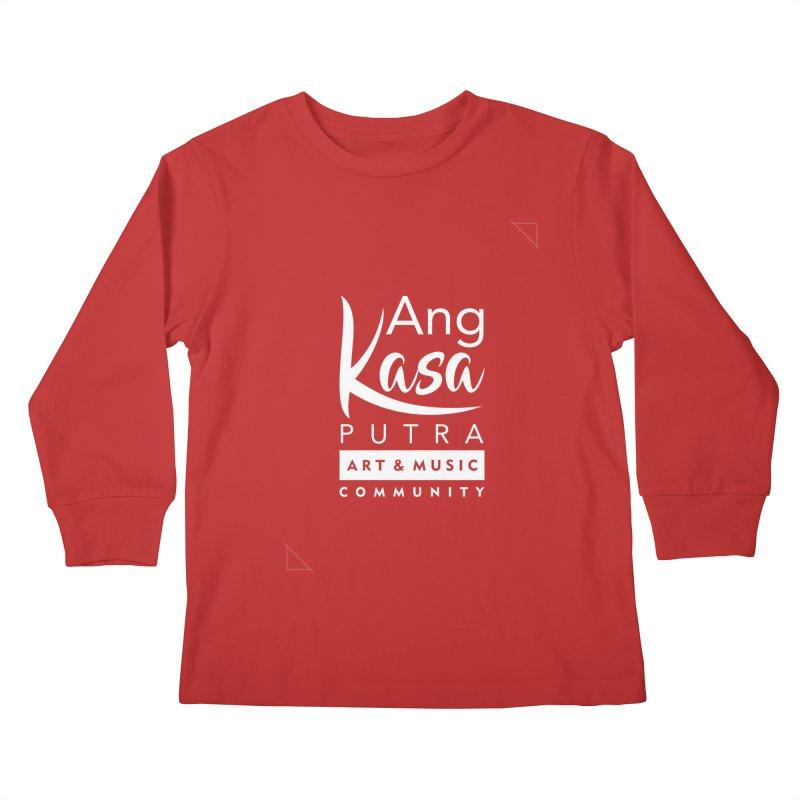 ANGKASA PUTRA ART & MUSIC COMMUNITY Kids Longsleeve T-Shirt by EHELPENT