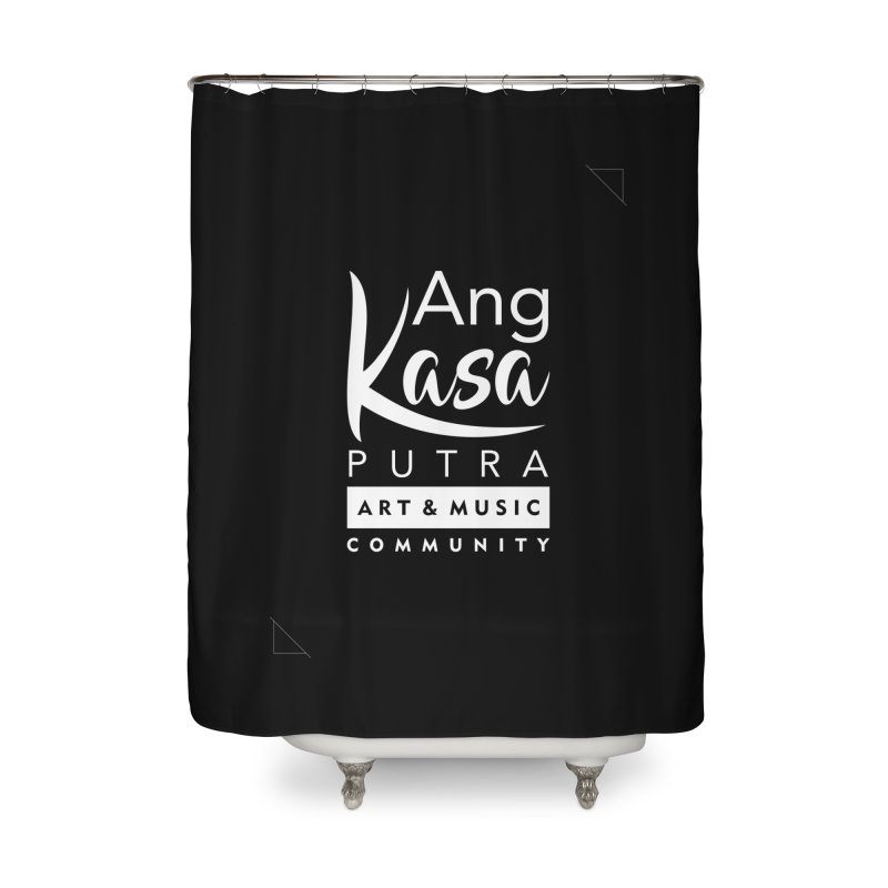ANGKASA PUTRA ART & MUSIC COMMUNITY Home Shower Curtain by EHELPENT