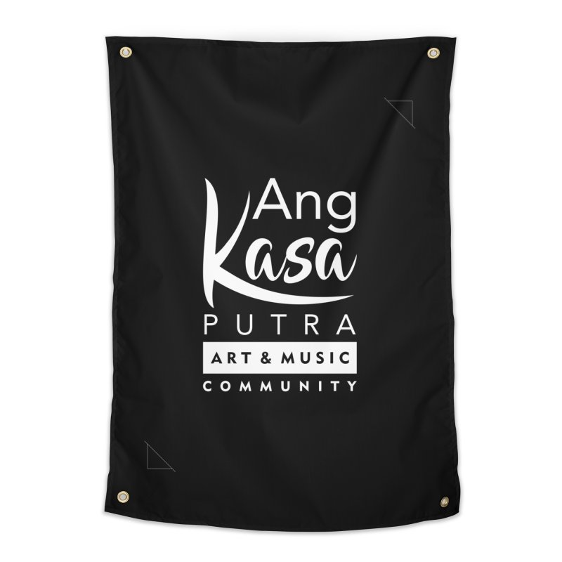 ANGKASA PUTRA ART & MUSIC COMMUNITY Home Tapestry by EHELPENT