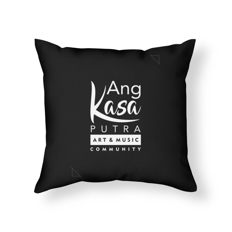 ANGKASA PUTRA ART & MUSIC COMMUNITY Home Throw Pillow by EHELPENT