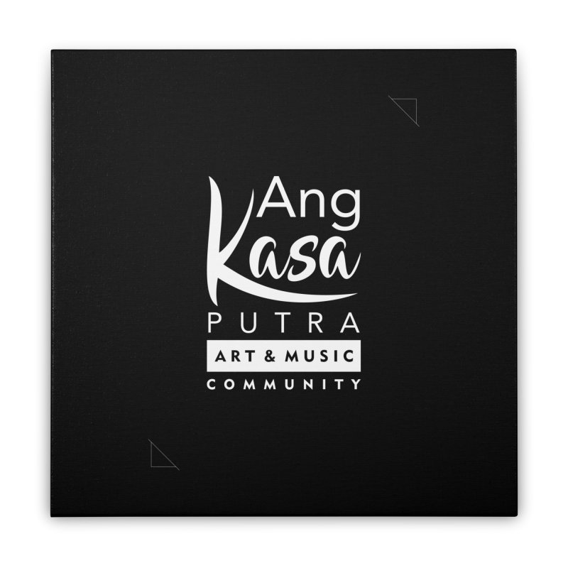 ANGKASA PUTRA ART & MUSIC COMMUNITY Home Stretched Canvas by EHELPENT