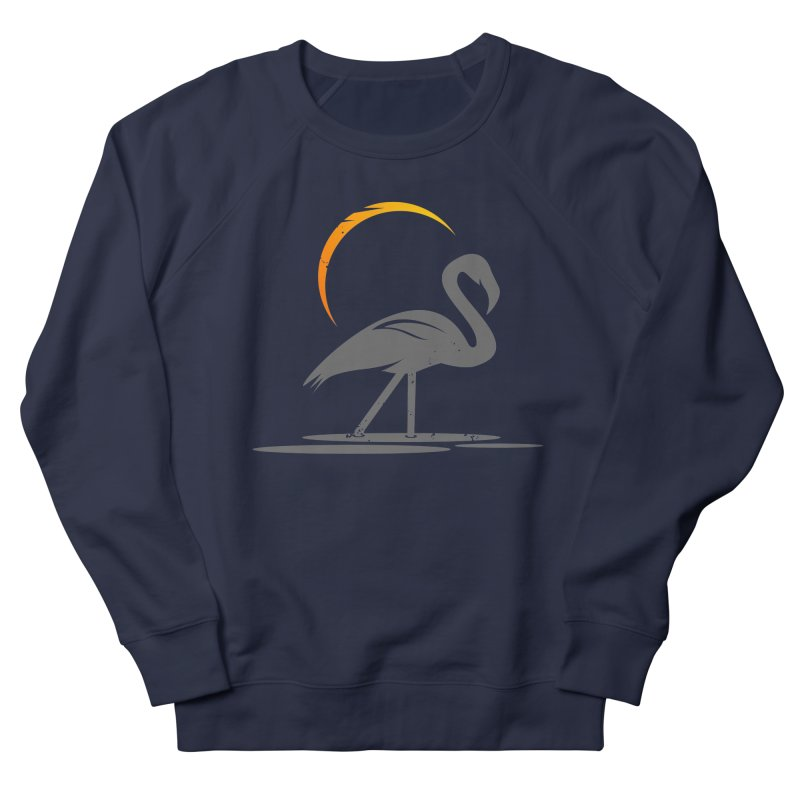 EPIC FLAMINGO Men's French Terry Sweatshirt by EHELPENT