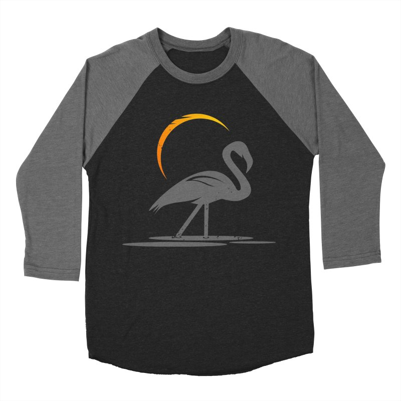 EPIC FLAMINGO Men's Baseball Triblend T-Shirt by EHELPENT