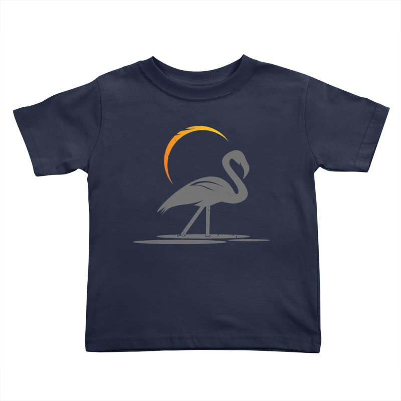 EPIC FLAMINGO Kids Toddler T-Shirt by EHELPENT