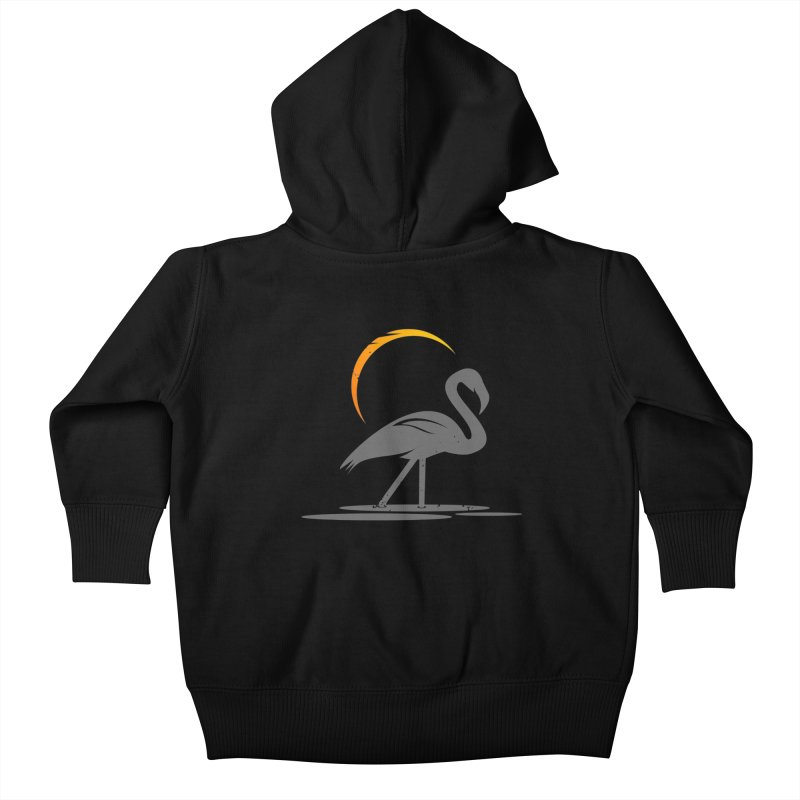 EPIC FLAMINGO Kids Baby Zip-Up Hoody by EHELPENT