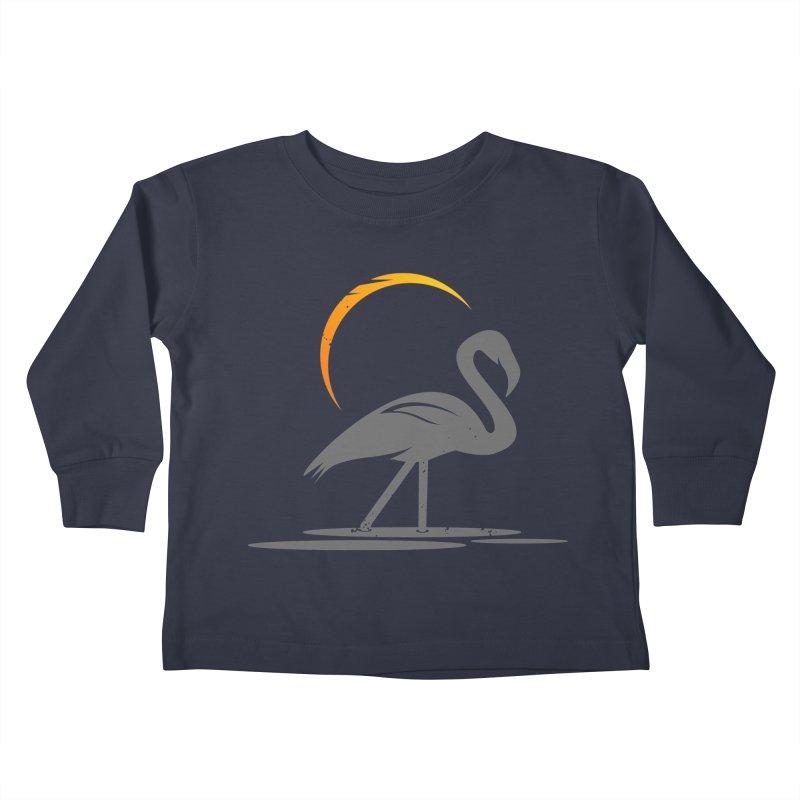 EPIC FLAMINGO Kids Toddler Longsleeve T-Shirt by EHELPENT