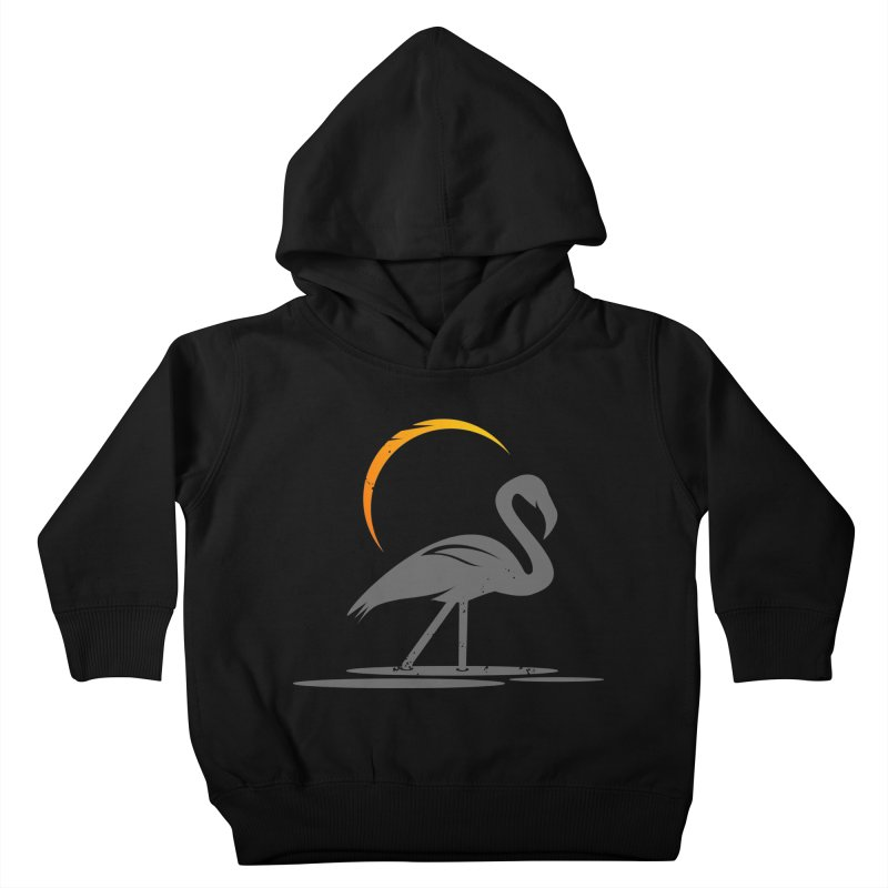 EPIC FLAMINGO Kids Toddler Pullover Hoody by EHELPENT