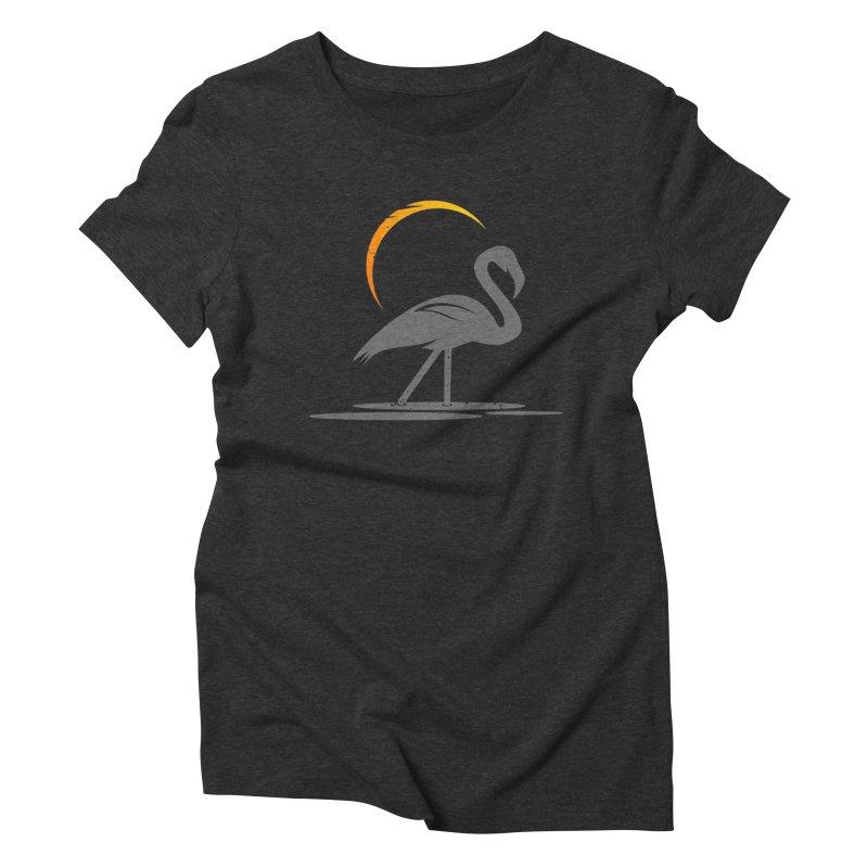 EPIC FLAMINGO Women's Triblend T-Shirt by EHELPENT