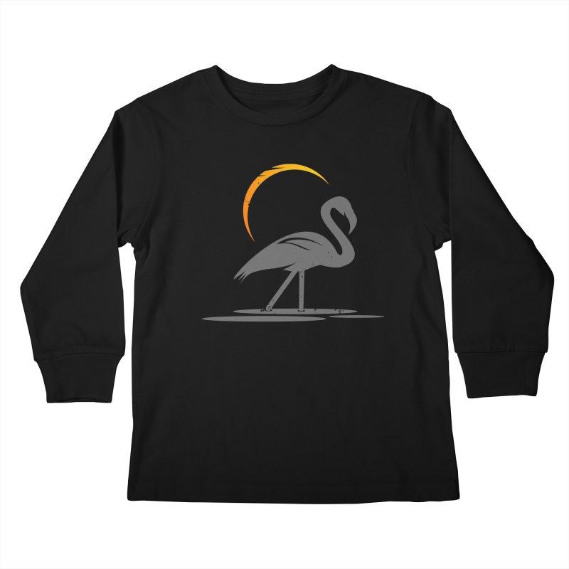 EPIC FLAMINGO Kids Longsleeve T-Shirt by EHELPENT