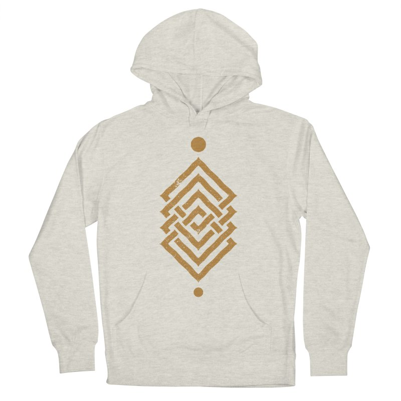 OUTSIDE THE LINK Men's Pullover Hoody by EHELPENT