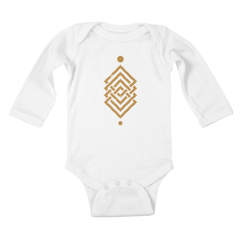 OUTSIDE THE LINK Kids Baby Longsleeve Bodysuit by EHELPENT