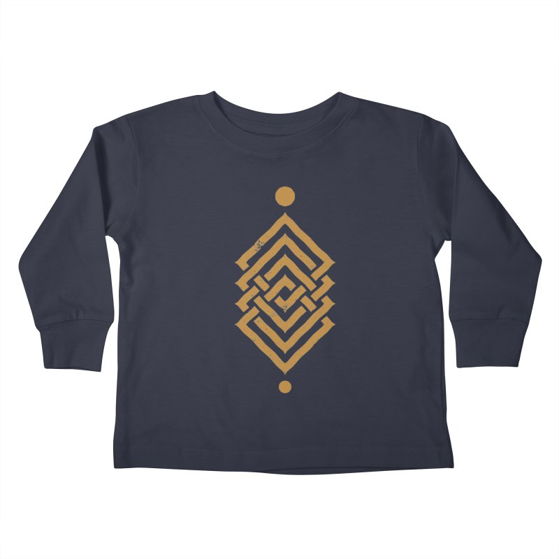OUTSIDE THE LINK Kids Toddler Longsleeve T-Shirt by EHELPENT