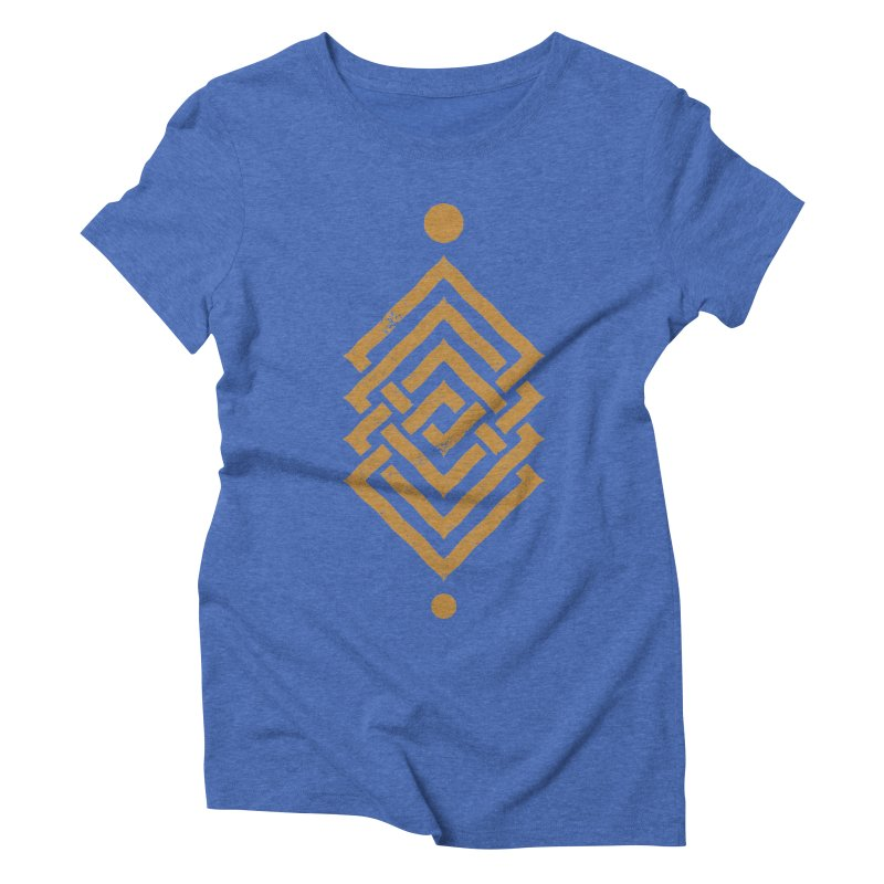 OUTSIDE THE LINK Women's Triblend T-Shirt by EHELPENT