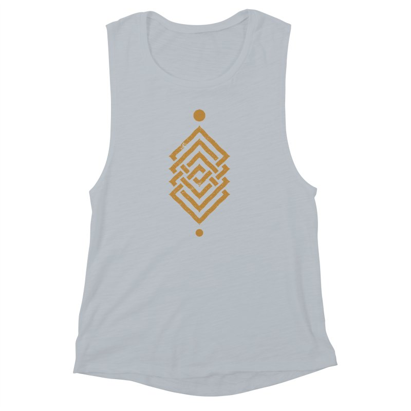 OUTSIDE THE LINK Women's Muscle Tank by EHELPENT