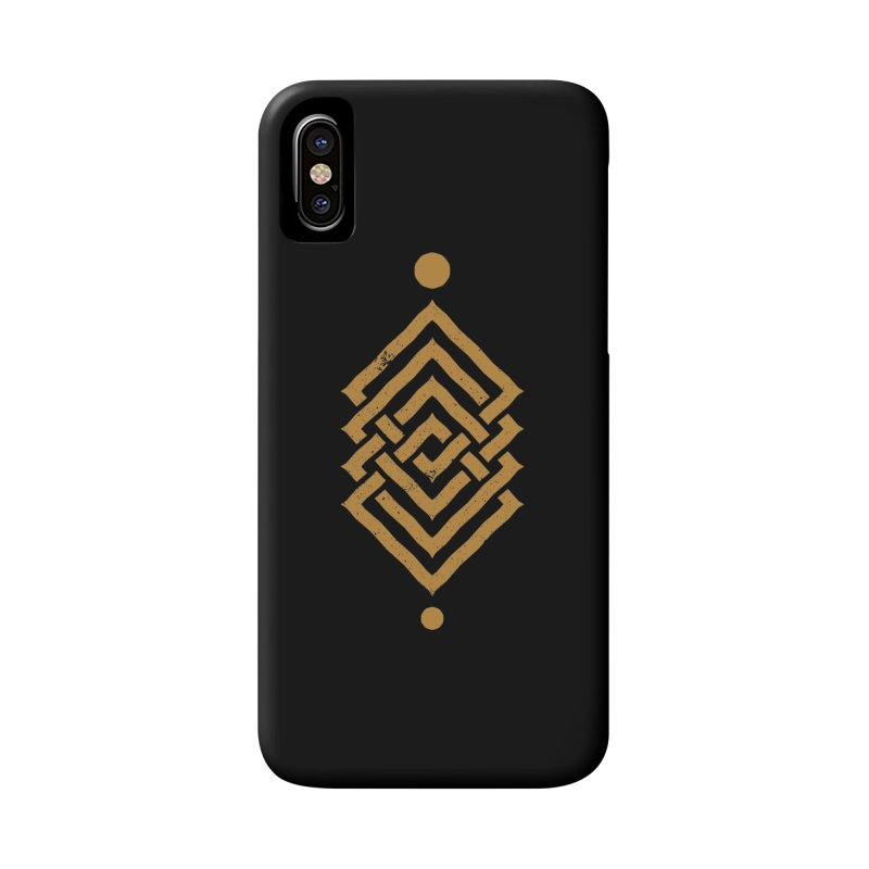 OUTSIDE THE LINK Accessories Phone Case by EHELPENT