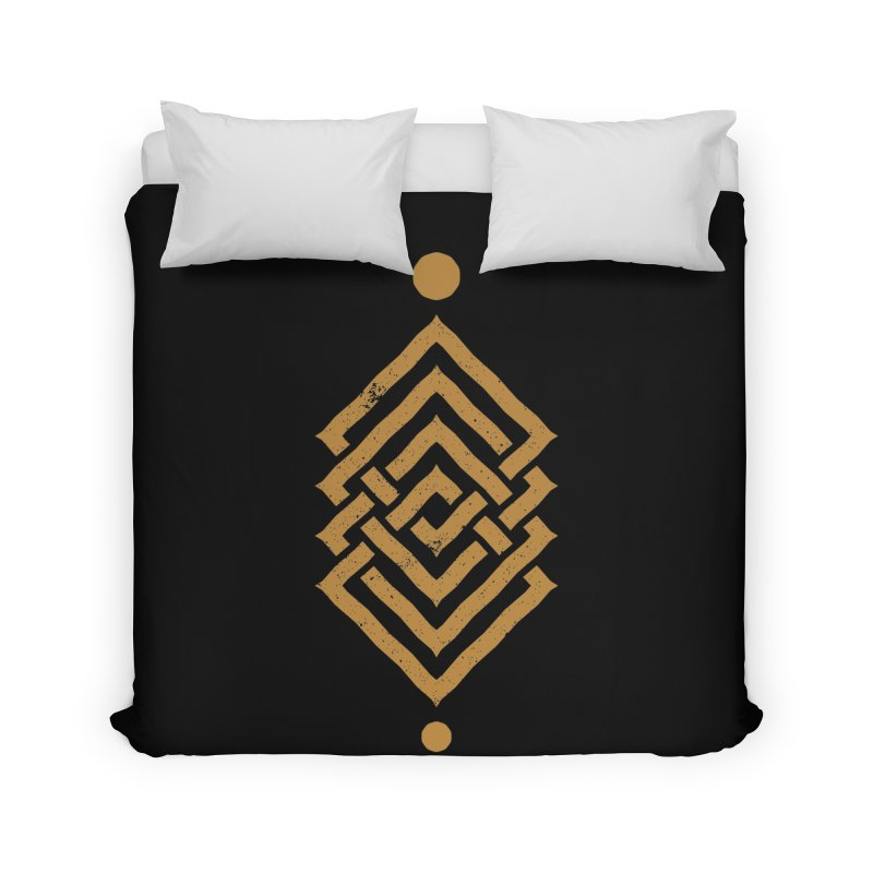OUTSIDE THE LINK Home Duvet by EHELPENT