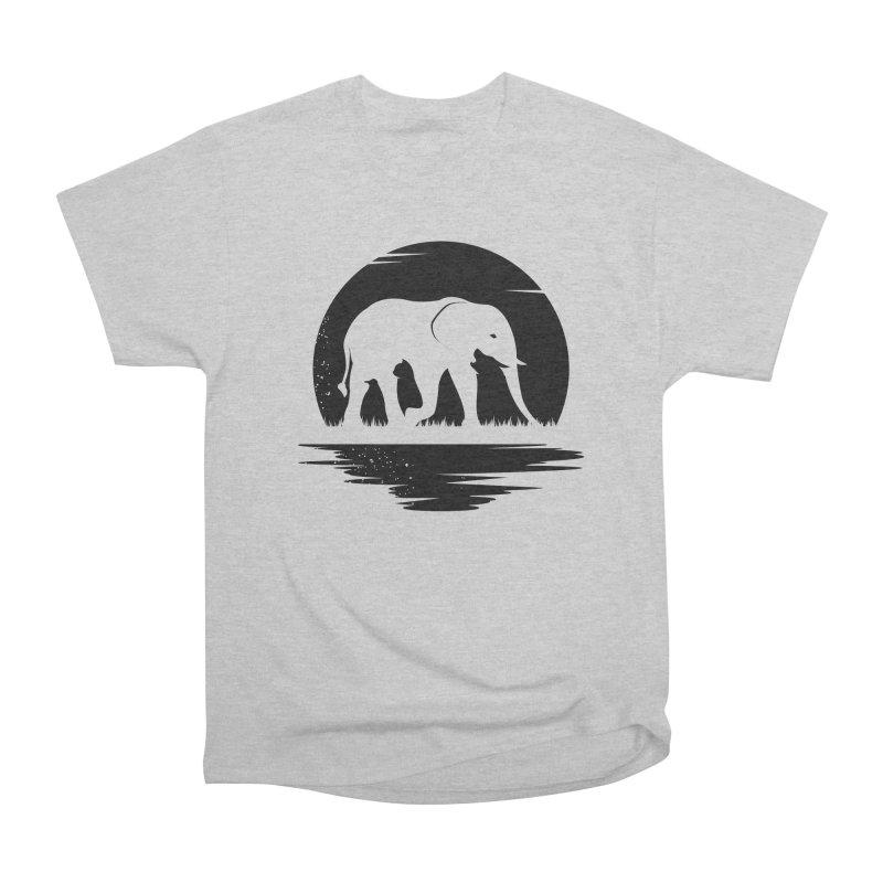 THE HIDDEN WILD SIDE (BLACK) Women's Classic Unisex T-Shirt by EHELPENT