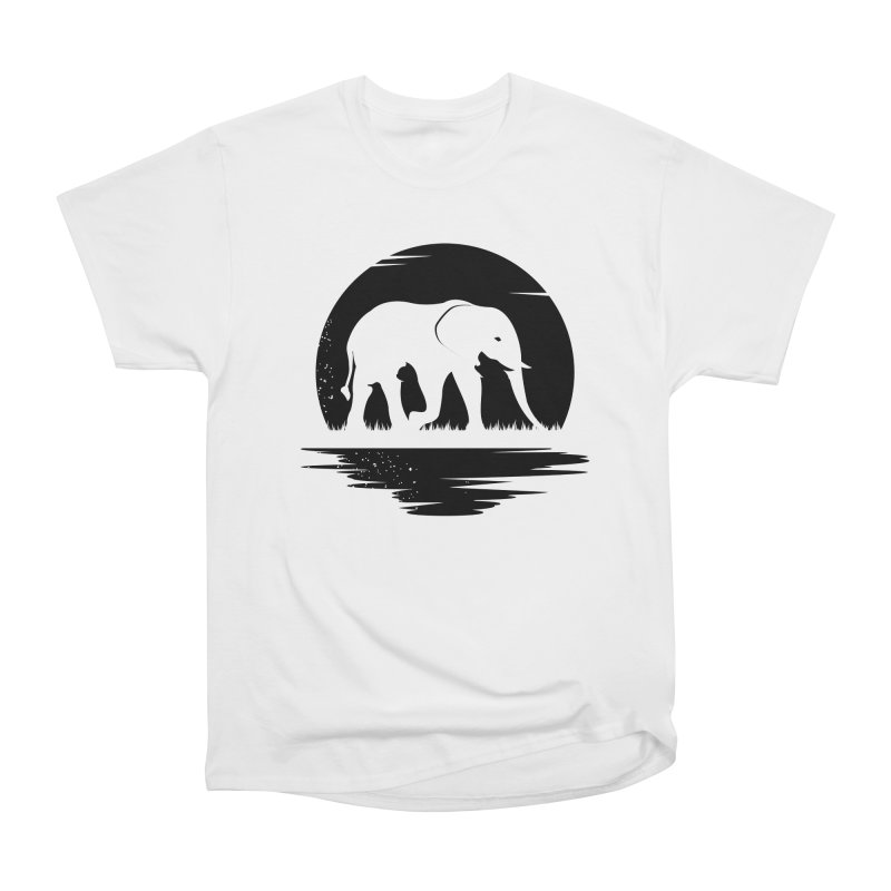THE HIDDEN WILD SIDE (BLACK) Women's Classic Unisex T-Shirt by EHELPENT