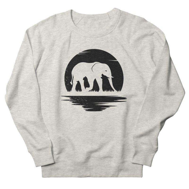 THE HIDDEN WILD SIDE (BLACK) Women's Sweatshirt by EHELPENT